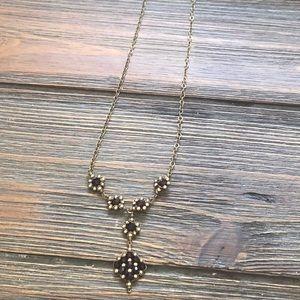 Jewelry - 14KT gold-filled garnet necklace